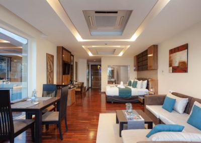Spa Bath Seaview Suite