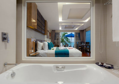 Spa Bath Seaview Suite