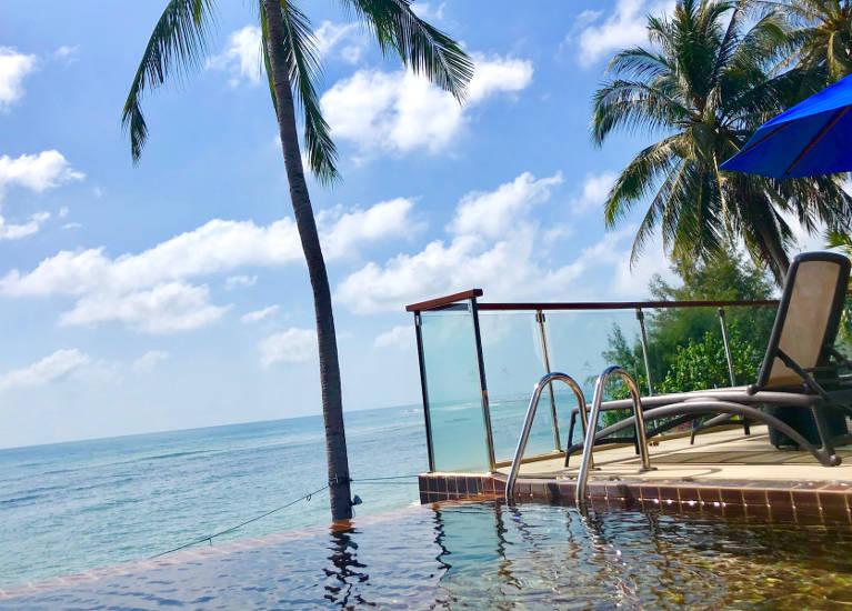 Pool Seaview Suite Samui