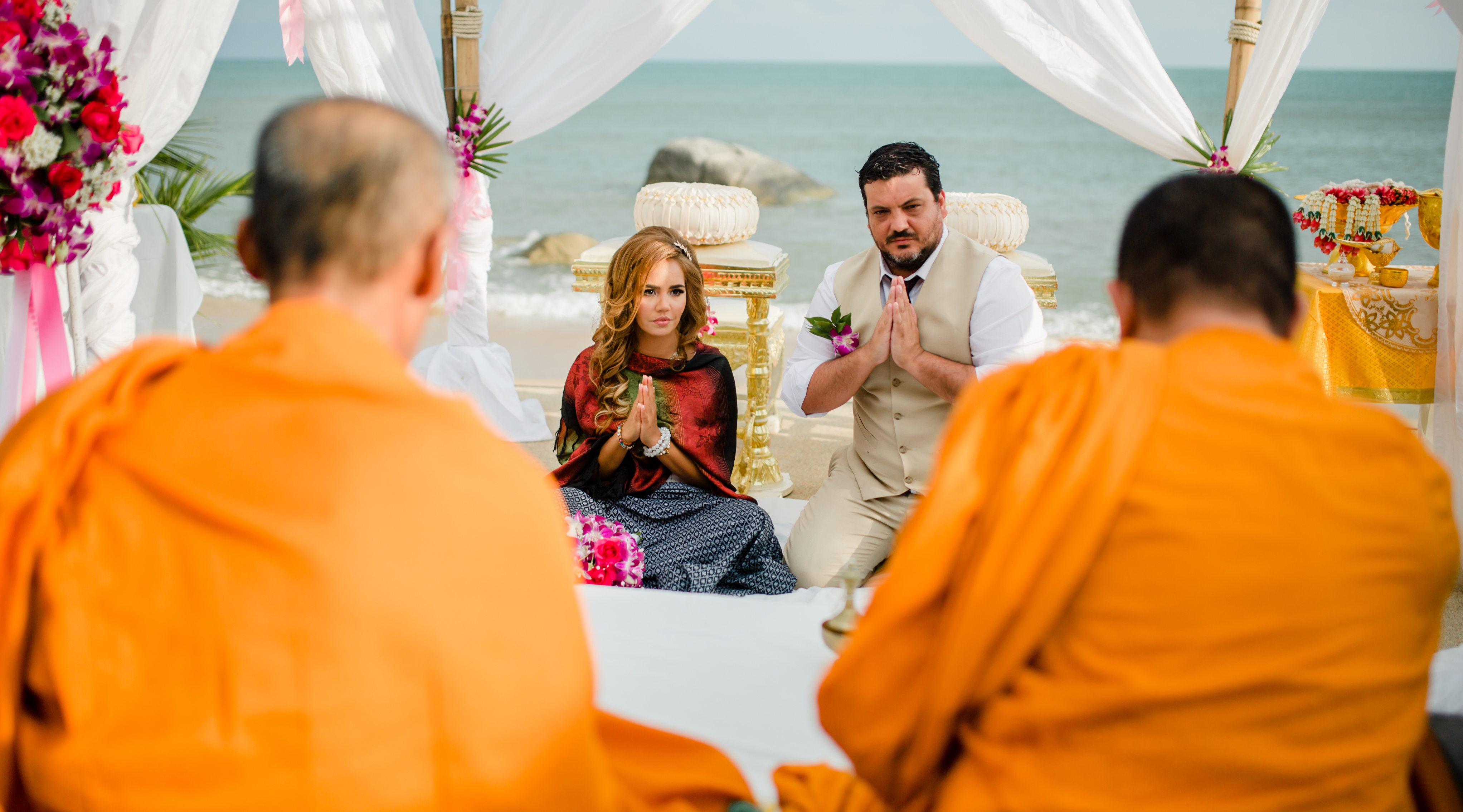 Thai Beach Wedding Samui