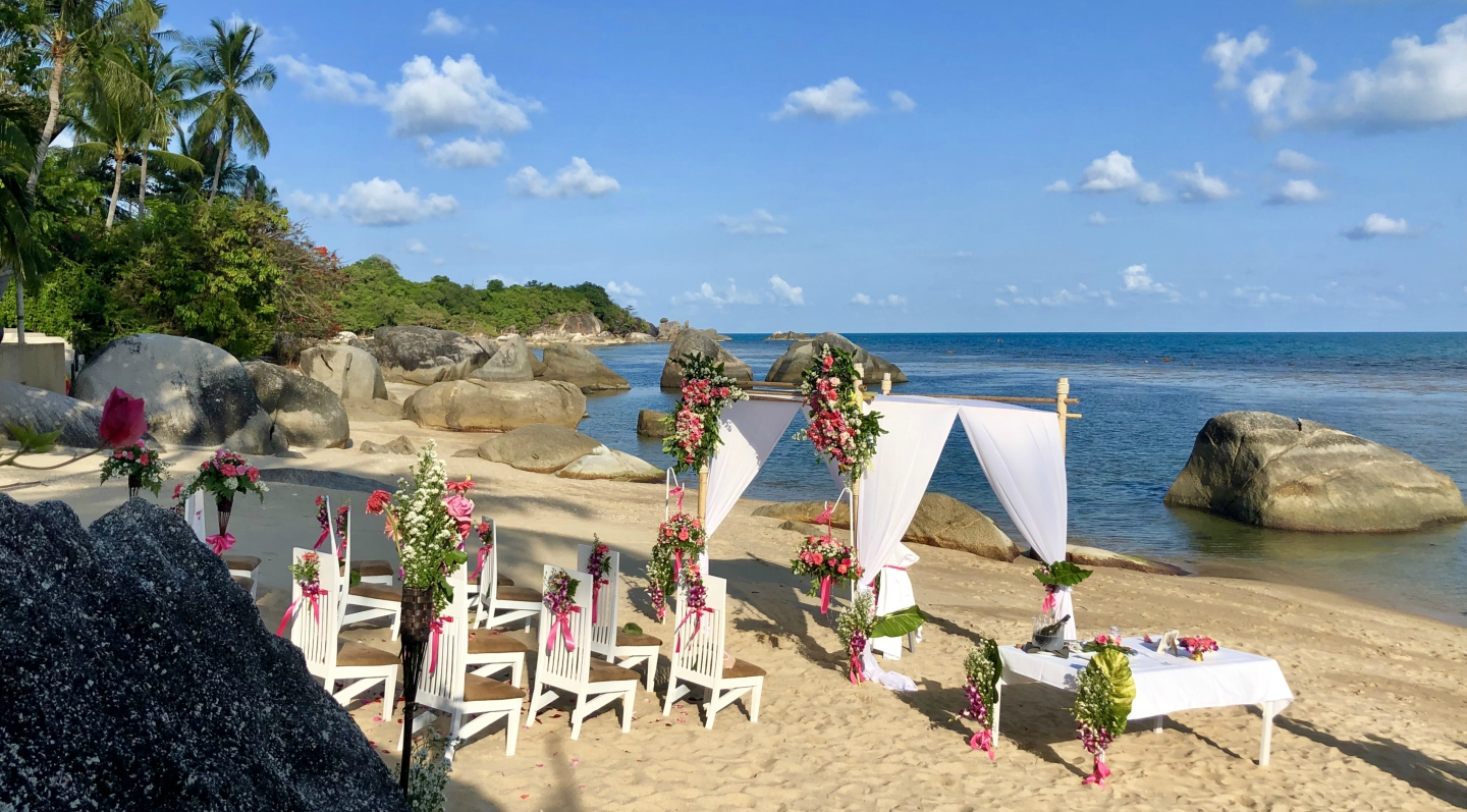 Wedding Samui Beach